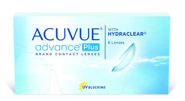 Acuvue Advance Plus (6 šošoviek) - expirace 12/2016