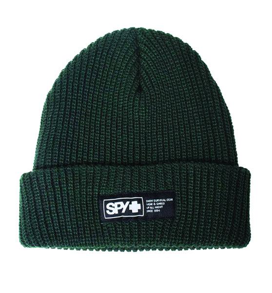 SPY Zimná čiapka pletená - tmavo zeleno-sivá
