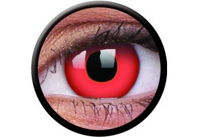 ColourVue Crazy šošovky - Red Devil (2 ks trojmesačné) - nedioptrické