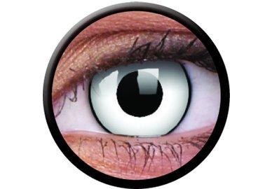 ColourVue Crazy šošovky - White Zombie (2 ks trojmesačné) - dioptrické