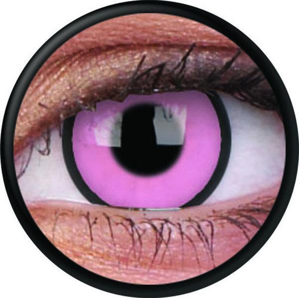 ColourVue Crazy šošovky - Hot Pink (2 ks trojmesačné) - nedioptrické