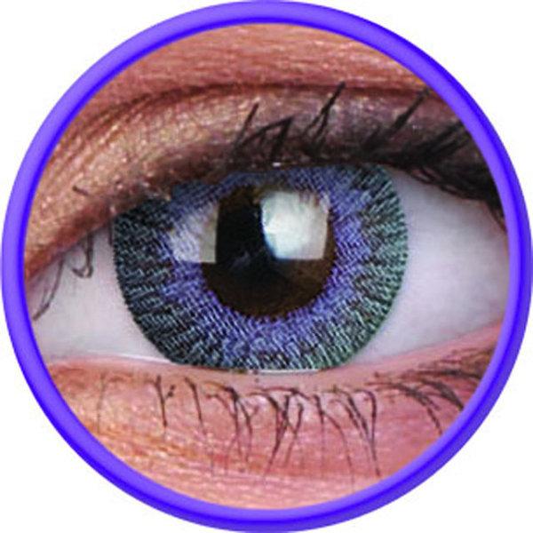 ColourVue Fusion - Violet Gray (2 šošovky trojmesačné) - nedioptrické