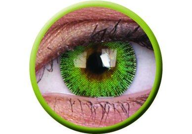 ColourVue Fusion - Yellow Green (2 šošovky trojmesačné) - dioptrické
