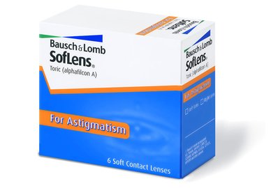 SofLens Toric (6 šošoviek) - výprodej skladu