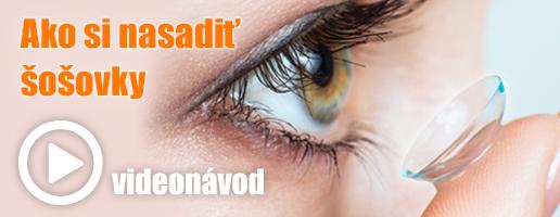 Ako si nasadiť kontaktné šošovky